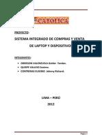 Proyecto Venta y Compra de Laptop y Dispocitivos
