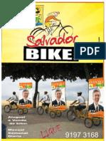 Banner bike eleições