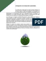 Valores y participación en el desarrollo sustentable.
