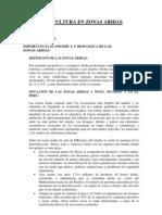 IMPORTANCIA ECONÓMICA Y BIOLÓGICA DE LAS ZONAS ÁRIDAS