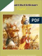 Bhagavad Gita Dictionary