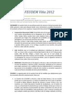Acta Nº2 Federación 2012