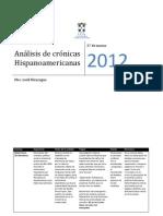 Análisis de crónicas Hispanoamericanas