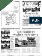 Versión impresa del periódico El mexiquense 22 agosto 2012
