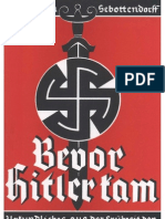 Sebottendorf, Rudolf Von - Bevor Hitler Kam (1933, 267 S., Scan, Fraktur)