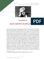Elias Canetti y El Psicoanalisis