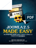 Joomla 25 Made Easy