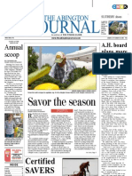The Abington Journal 08-22-2012