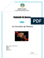 Capa Correntes Da Historia