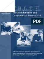 Teaching Emotive and Controversial History