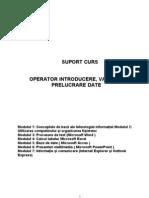 Suport Curs Operator Calculator