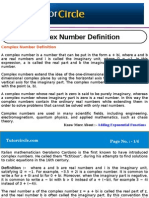 Complex Number Definition