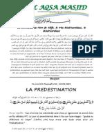 LA PREDESTINATION