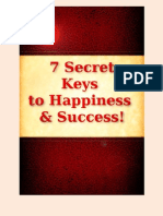 7 Keys to Happiness and Success