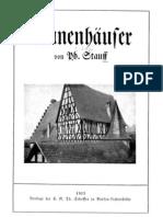 Stauff, Philipp - Runenhaeuser (1913, 125 S., Scan, Fraktur)