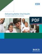 Delivering Better Oral Health 2009