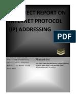Abhishek Pal -Project Report 2012