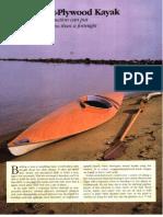 095-067 - Build a Bent-Plywood Kayak