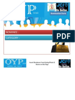 OYP Nomination Presentation Format