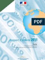 Rapport Tracfin 2011