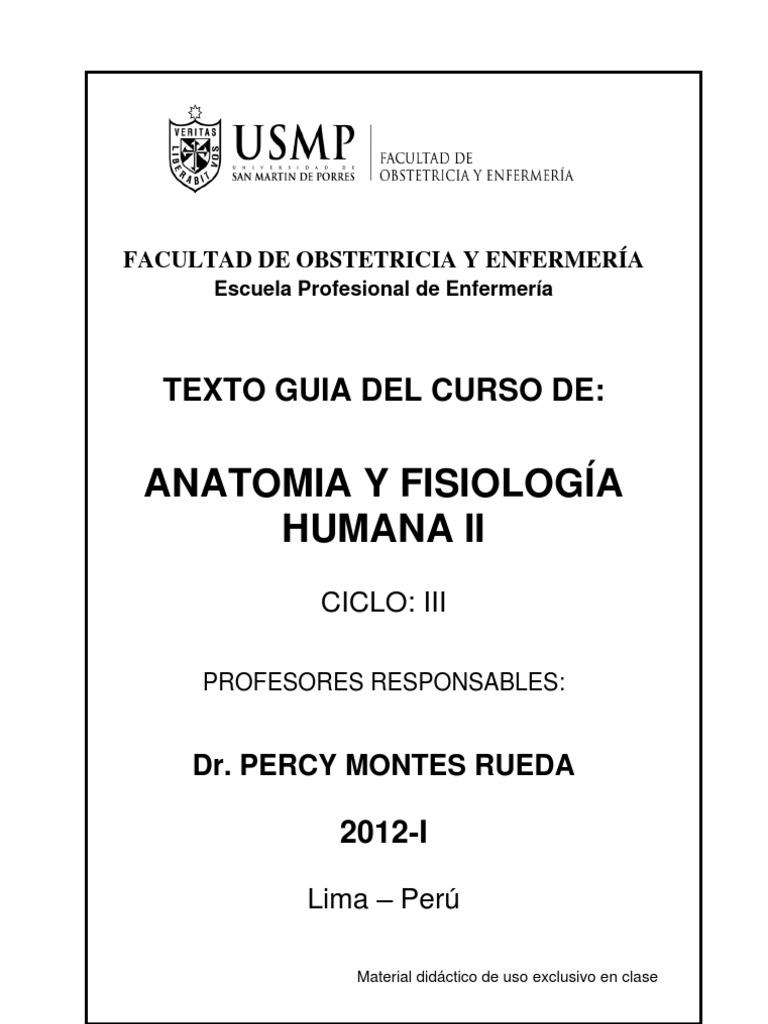 Texto Guia Anatomia Fisiologia II-VER 2012-I
