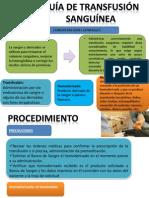 Diapositivas  Transfusion