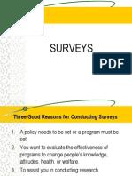 How to Write a Good Survey