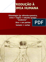 Introdução a anatomia humana