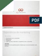 Experiência de marketing