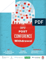Sapsf Post Conference Withdrawal First Edition