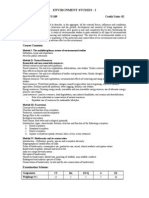 27a26Microsoft Word - Environment Studies I & II