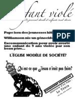 L'ENFANT VIOLE #2 -  MARS 2009