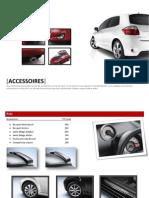 Catalogue Accessoires 2012