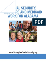 Social Security, Medicare and Medicaid Work for Alabama 2012