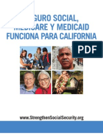 Social Security, Medicare and Medicaid Work for California Final Spanish