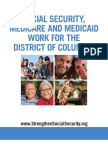 Social Security, Medicare and Medicaid Work for District of Columbia 2012