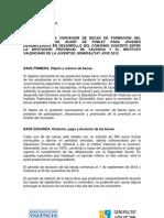 Bases  per a la concessió de beques de l'Ajuntament de Quart  de Poblet  a Quart Jove 2012