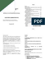 Modulo Auditoria Administrativa(Autosaved)