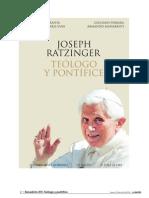 Joseph Ratzinger Teólogo y Pontífice