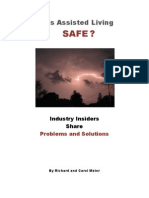 Is Assisted Living SAFE?  Preface