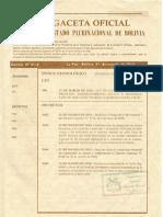 Ley Nro 004 Marcelo Quiroga Santa Cruz