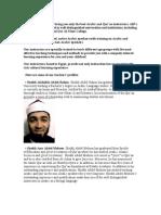 Teacher Profiles Imams