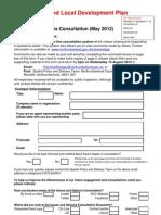 Response Form