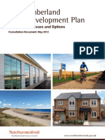 Northumberland Local Development Plan May2012 Core Strategy Issues and Options Consultation Document[1]