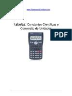 Calculadora Casio - Tabela