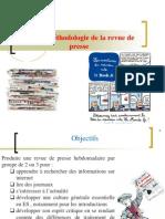 AP 1 - Méthodologie revue de presse
