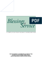 Blessings of Service