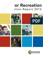 Outdoor Foundation 2012 Outdoor Recreation Participation Study