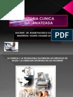 Historia Clinica Informatizada Violeta