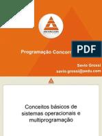 [AULA02] - Conceitos básicos de sistemas operacionais e multiprogramação